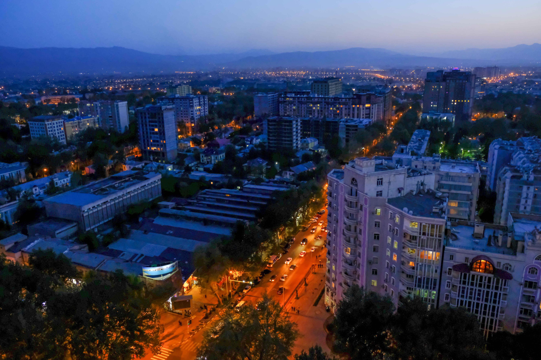 видео город душанбе