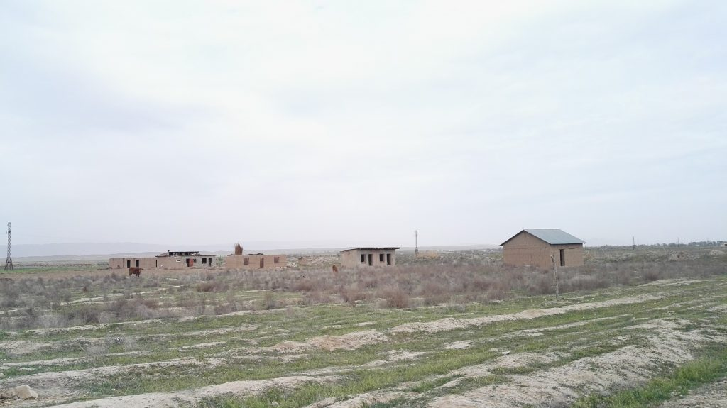 The village of migrants in Khatlon region. Photo: CABAR.asia